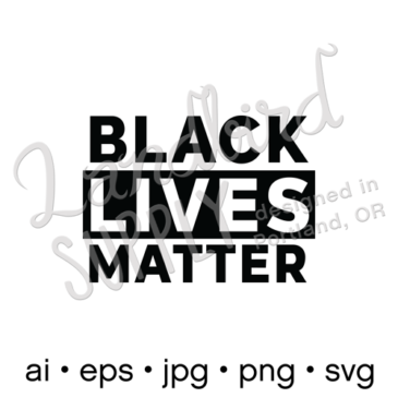 """Black Lives Matter <span class=""""caps"""">FREE</span> svg vector download (for noncommercial use)"""